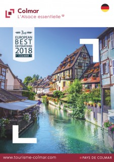 Elsass Karte Zum Ausdrucken.Touristinformation Colmar In Elsass Broschuren Stadtplan