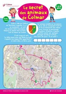 Jeu de piste 4/6 ans : Le secret des animaux de Colmar