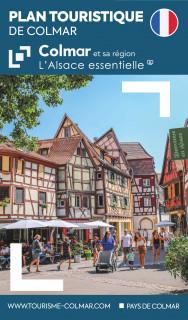 Plan touristique de Colmar